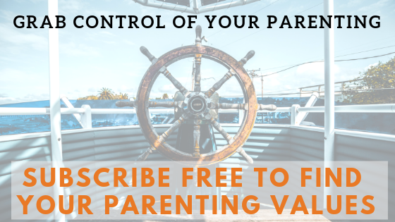 your parenting values banner